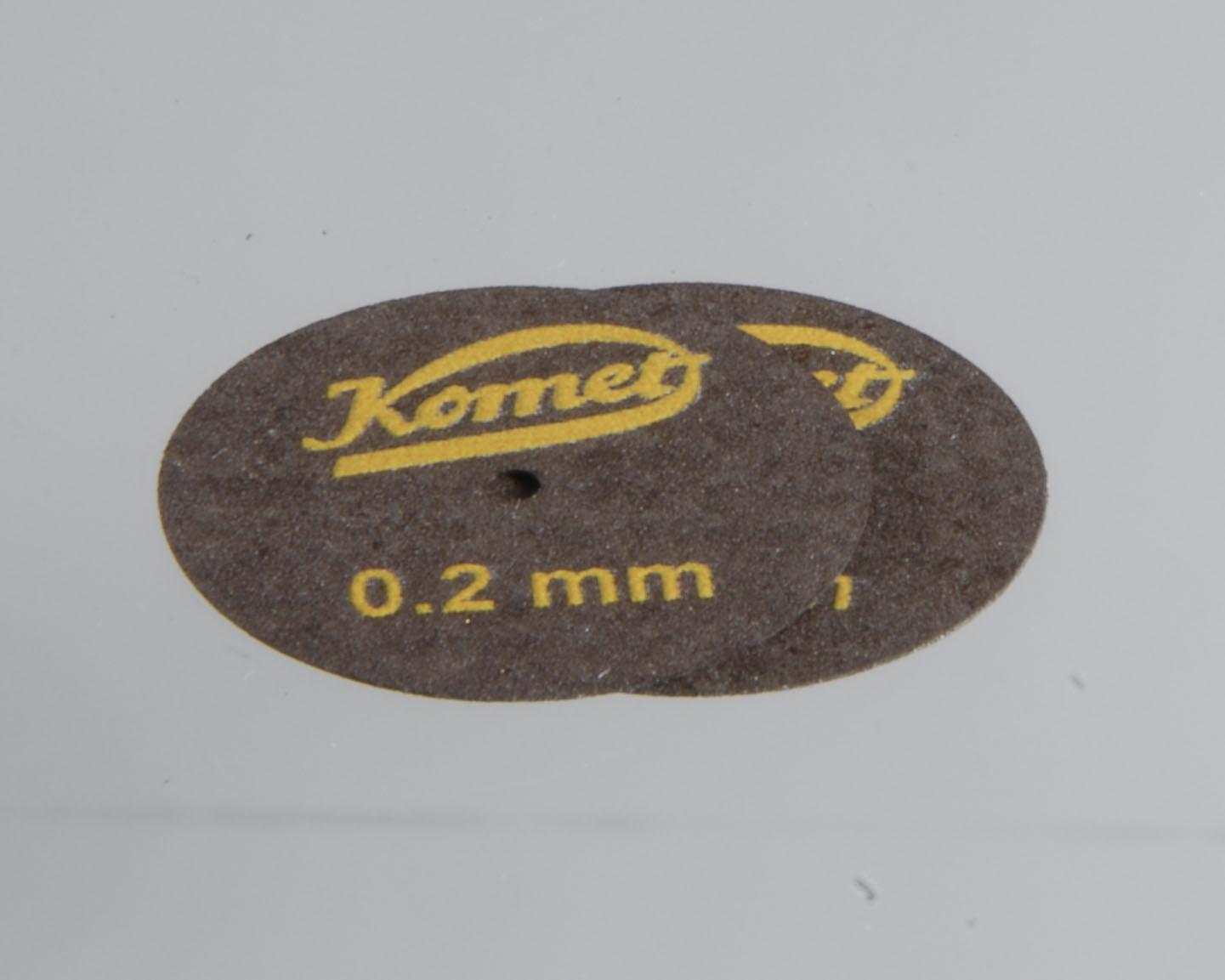 Trennscheiben 0,2 mm, Ø 22 mm, gewebeverstärkt (VE 2 Stk.)