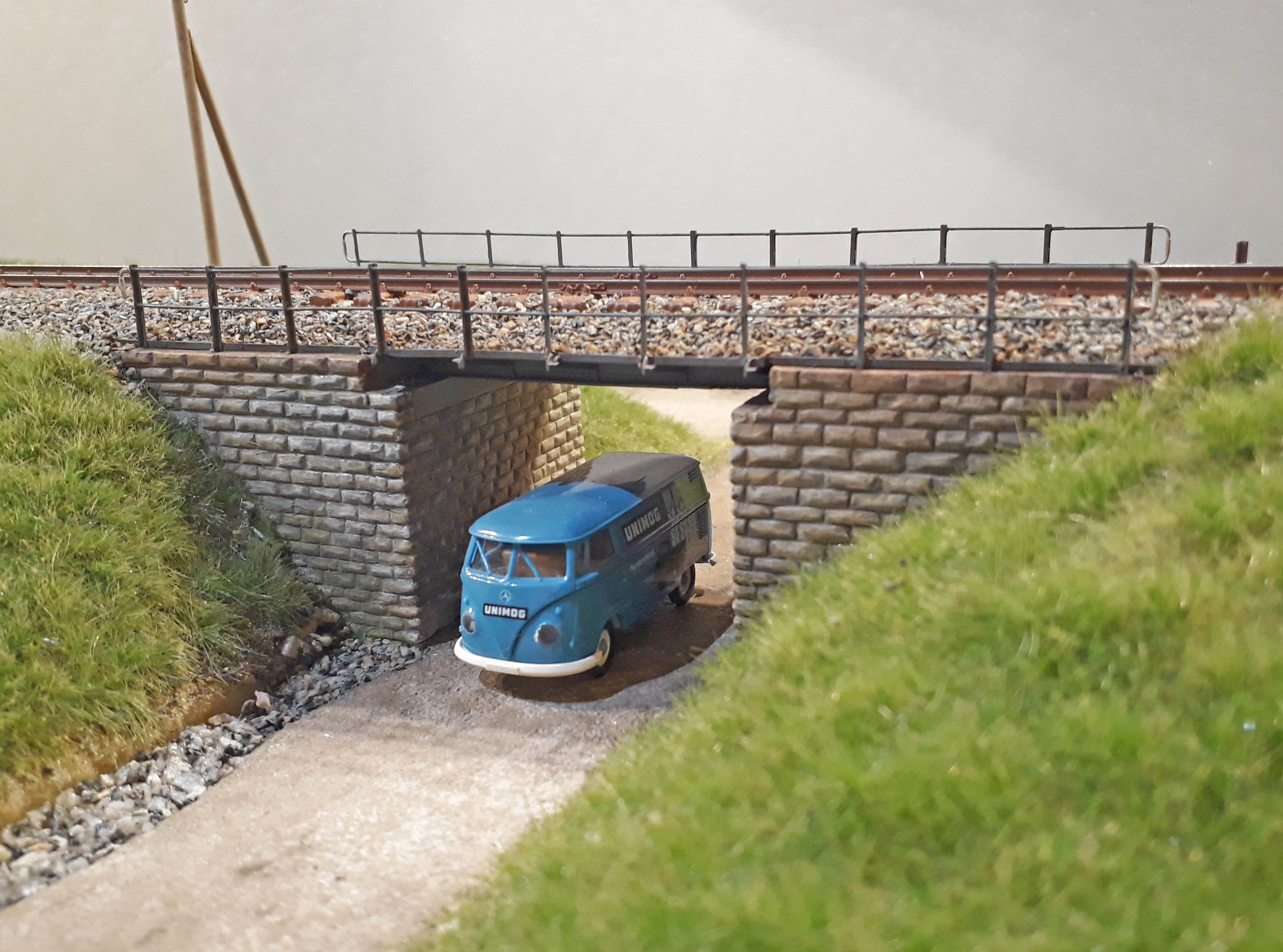 "Ätzbausatz Brücke ""Saatfeld"" (Spur H0)"