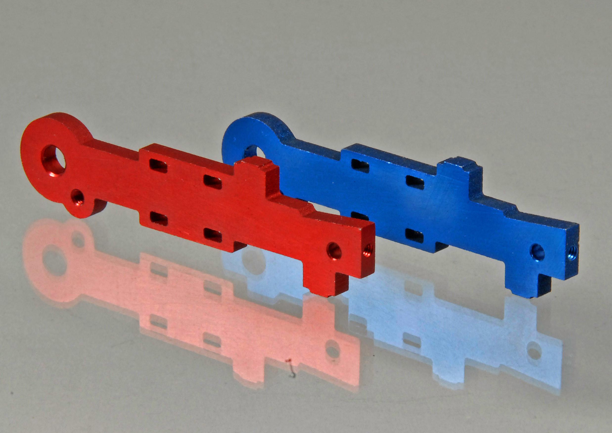 Aluminiumhebel rot (Ersatzteil) - NT-Version