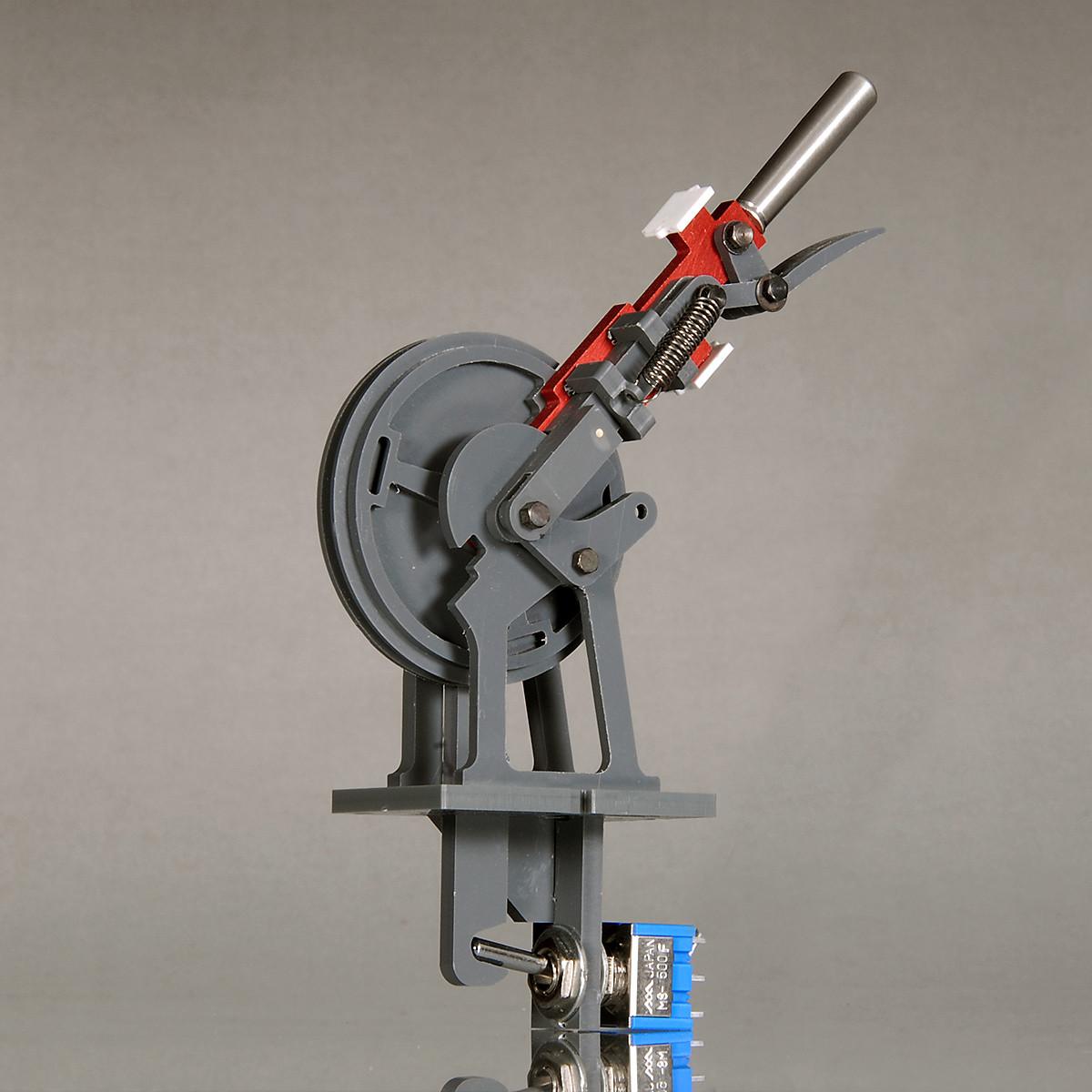 Signalhebel (rot) für mechanisches Stellwerk - NT-Version