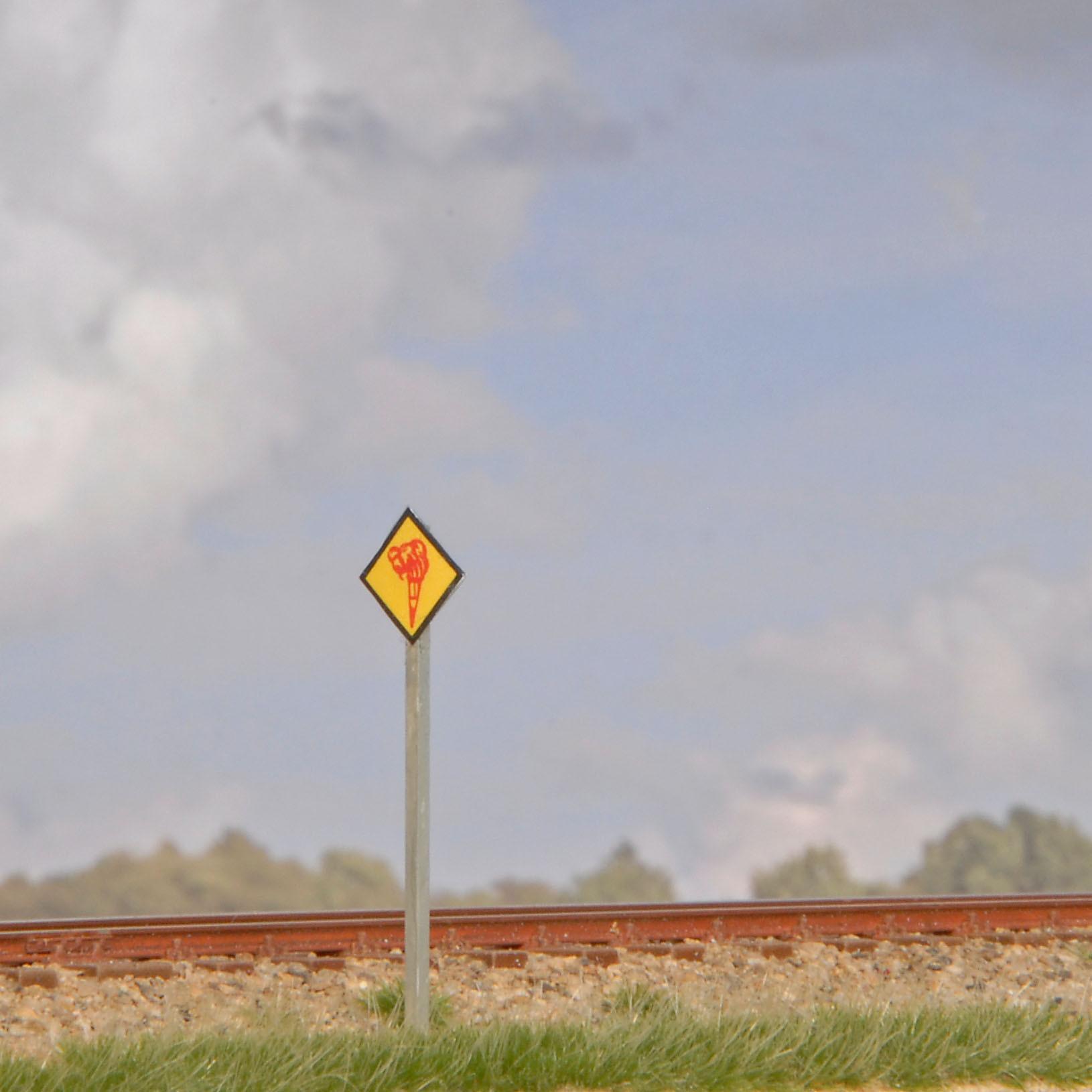 Brandfackeltafeln So10 (Spur H0)