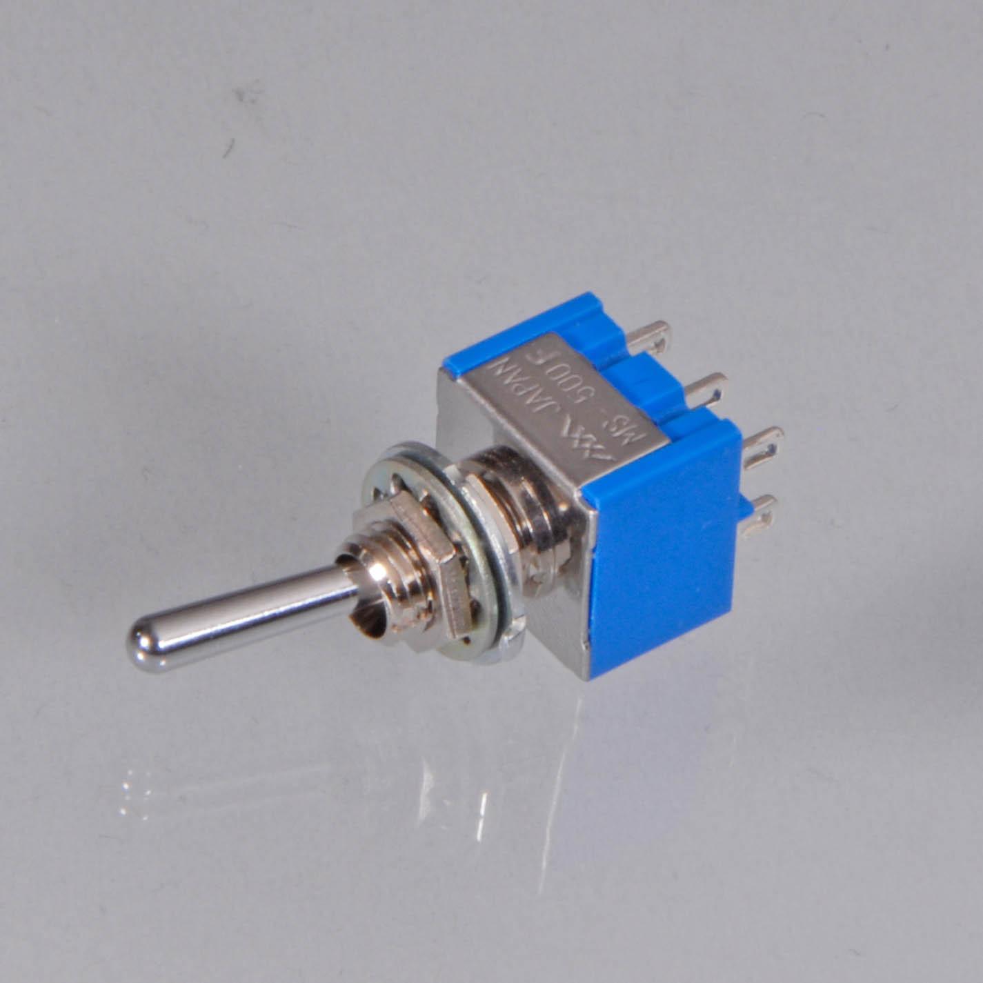 2-poliger Miniatur-Kippschalter (Miyama MS500F) als Ersatzteil - NT-Version