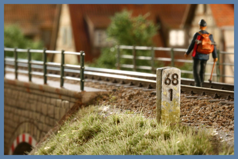 (Wunsch)-Kilometersteine Spur H0 (VE 20 Stk.)