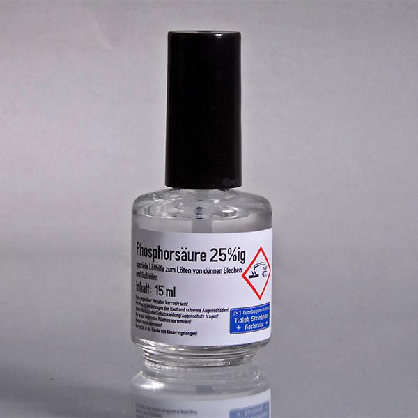 Phosphorsäure, 25% - Löthilfe