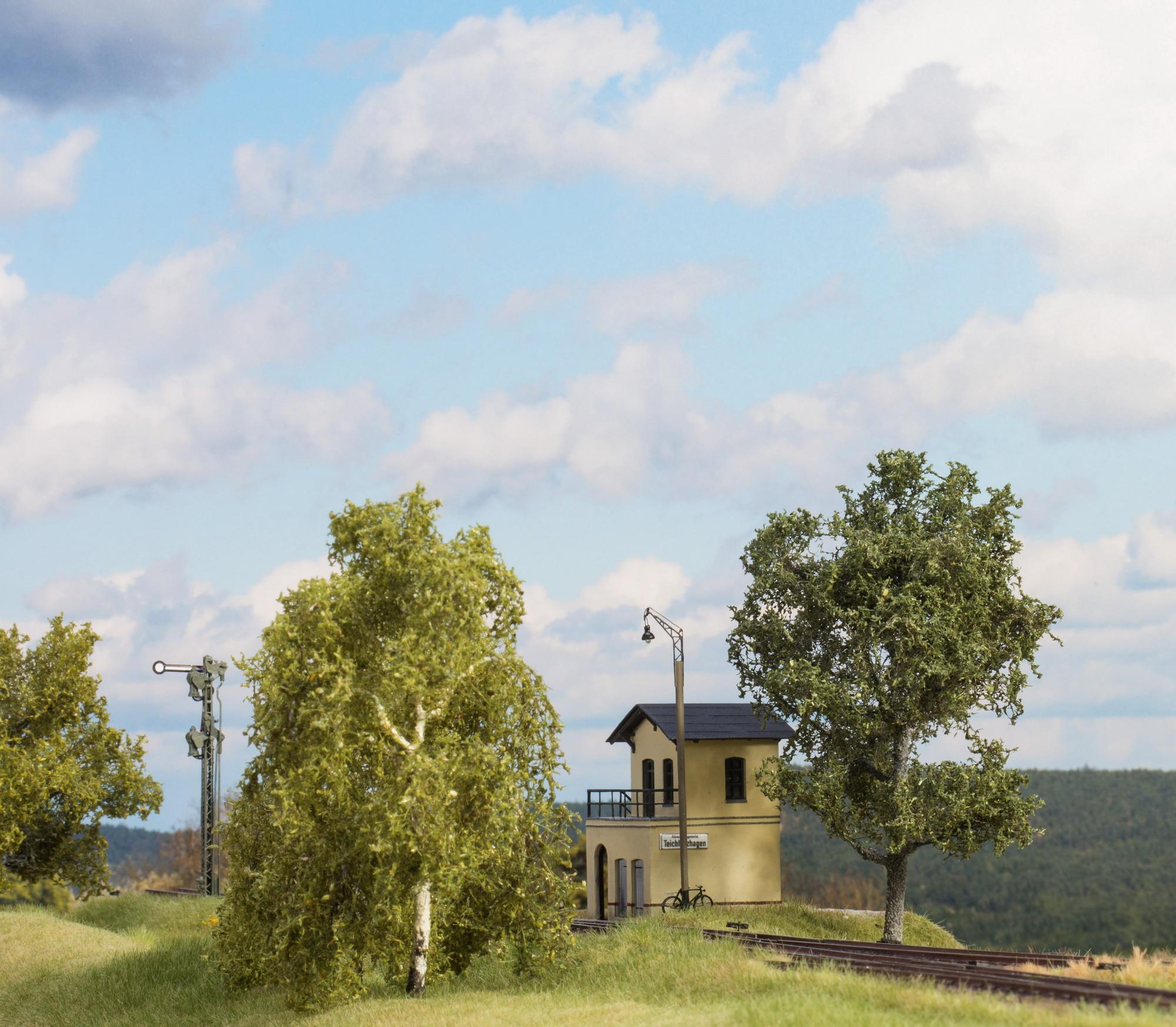 Kleines Stellwerk, Blockstelle (Spur H0)