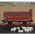 Gewichte für Verschlagwagen (Schafe) Spur H0 (VE 10 Stk.)