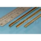 Messing U-Profil 1 x 2.5 x 1 mm