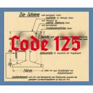 Code 125 Schienenprofil, blank