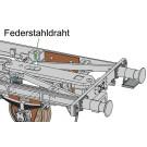 Federstahldraht für Kupplungskinematik (VE 2 Stk.)