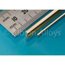 Messing I-Profil 2 x 1 mm
