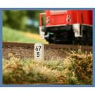 (Wunsch)-Kilometersteine Spur N (VE 20 Stk.)